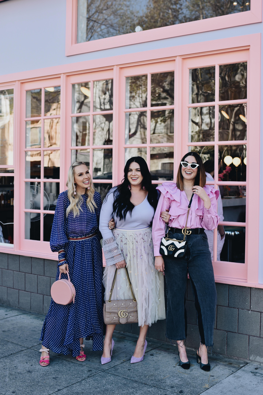f497c4c1715 Glossier SF Pop Up – Wannabe Fashion Blogger